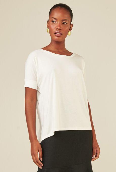 Blusa Básica Nice Branca