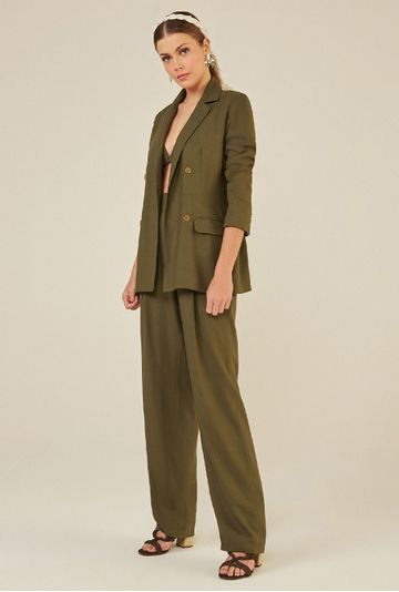 Calca-Pantalona-com-Bolso-Faca-em-Linho-Lommel-Verde-detalhe