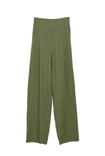 Calca-Pantalona-com-Bolso-Faca-em-Linho-Lommel-Verde-still