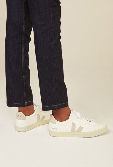 Tenis-Campo-Chromefree-Extra-White-Natural-Suede-Vert-Shoes-detalhe
