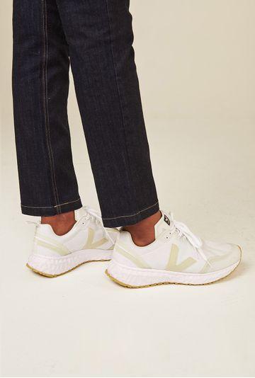 Tenis-Condor-Alveomesh-White-Pierre-Vert-Shoes-Frente