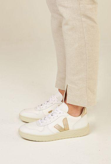 Tenis-V10-Couro-White-Platine-Vert-Shoes-principal
