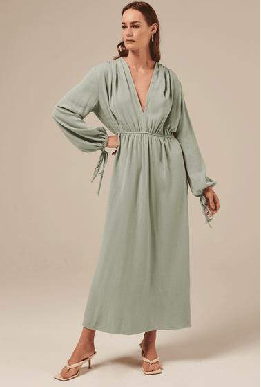 Vestido-Camrose-em-Linho-com-Manga-Bufante-Acqua-principal