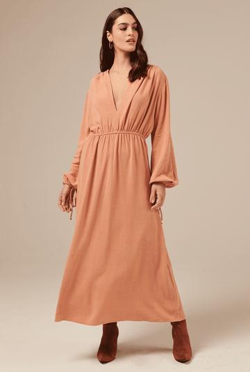 Vestido-Camrose-em-Linho-com-Manga-Bufante-Salmao-principal