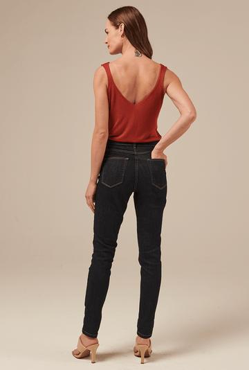 Calca-Merritt-Jeans-em-Algodao-Skinny-costas