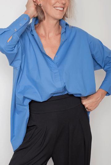 Camisa-Dinant-Tricoline-de-Algodao-Assimetrica-Azul-detalhe-2