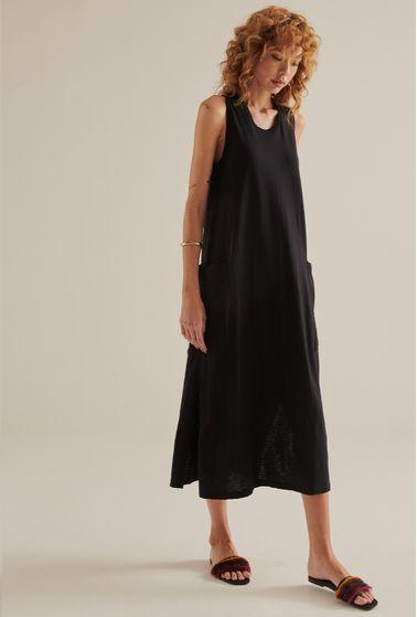 Vestido-Arizona-Algodao-Certificado-Midi-preto-principal