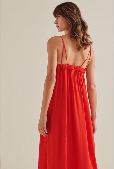 Vestido-Antalia-Viscose-Midi-Vermelho-costas