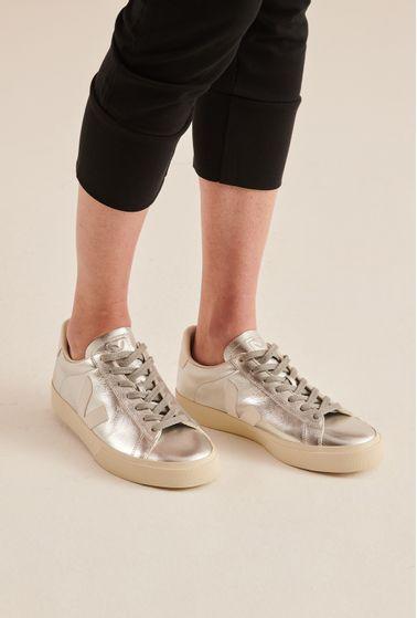 Tenis-Campo-Chromefree-Silver-White-Vert-Shoes-principal